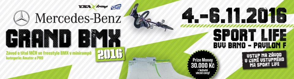 MERCEDES-BENZ GRAND BMX 2016 - report