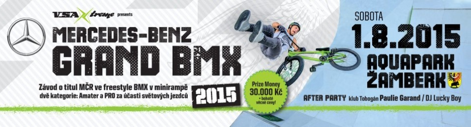 MERCEDES-BENZ GRAND BMX - Freestyle BMX competition - miniramp